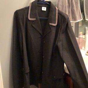 Cabi ponte knot blazer jacket